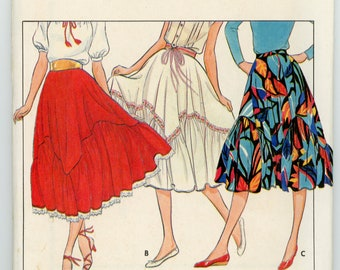 Vintage Butterick Sewing Pattern - 4212 ca.1980s - UNCUT - Factory Folded