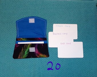 CP-20-21-22-23-24) Cute card pouches, 5 to choose from