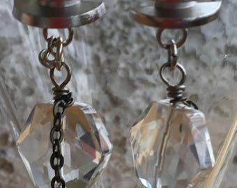 Gemstone Pierced Earrings