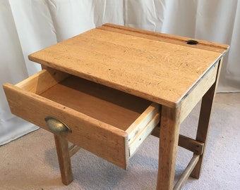 Child's School desk with drawer conversion