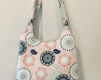 Tote Bag, Shoulder Bag, Magnetic Snap, Handmade by Me, Ready To Ship