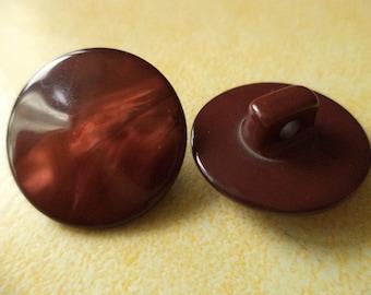 13 buttons 18mm dark brown (3831) button