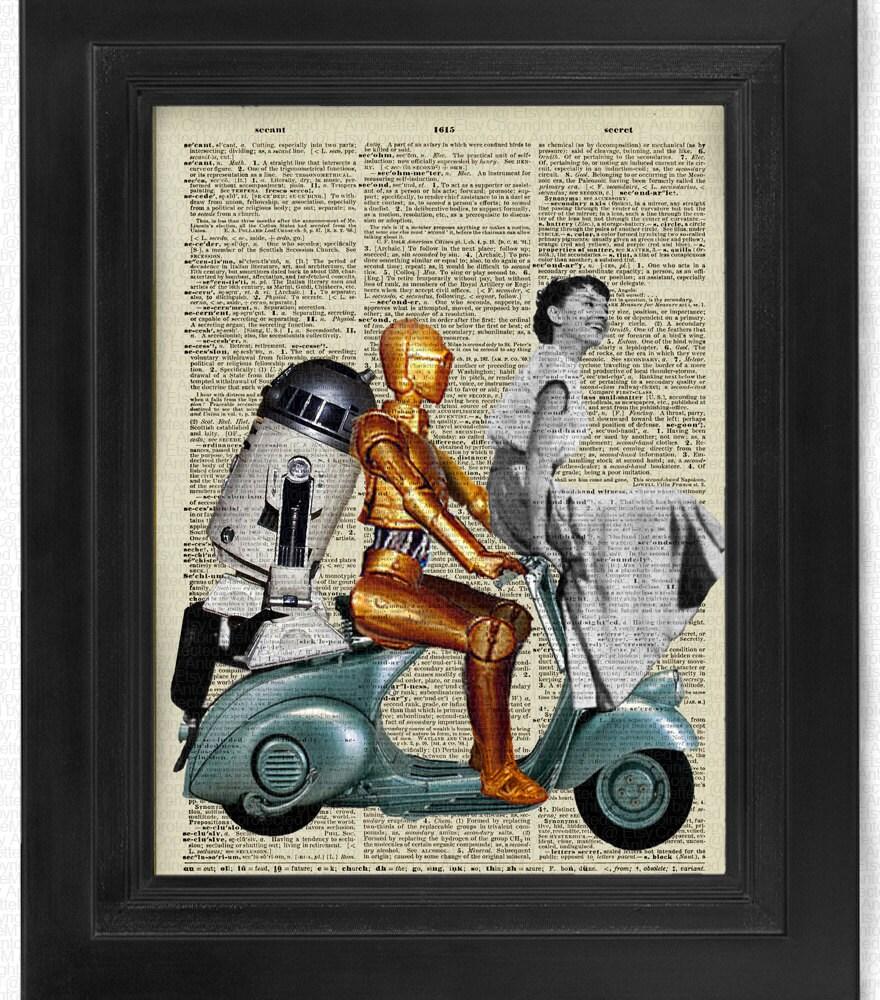 Buy3Get3 Free Star Wars Sabrina Audrey Hepburn R2D2 CP30