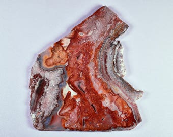 Laguna Lace Agate Polished Slab