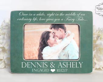Engagement Gift Engagement Picture Frame Engagement Frame Gift Picture Frame Enagagement Proposal Engagament Picture Engagement Decor 4x6