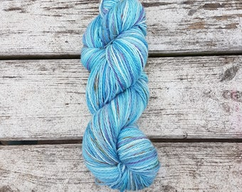 Larkspur hand dyed 4ply yarn