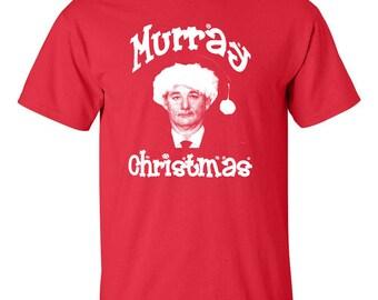 Murray Christmas Bill Merry XMas Holiday Retro Men's Tee Shirt 530