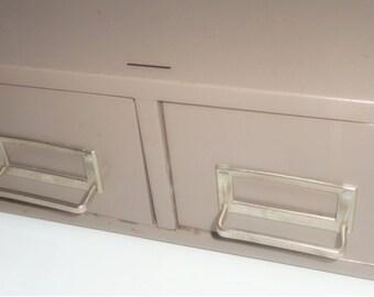 Industrial Drawers ,2 Drawer Files, Storage, Craft Supply Storage,Metal Cabinet