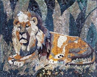 Chronicles of Narnia - Lion Mosaic Wall Art