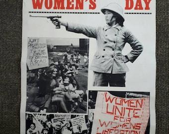 International Women's Day Poster 1970s