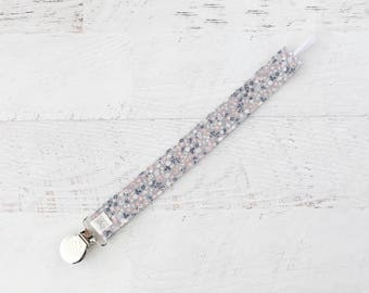 Pacifier Clip, Soother Clip, Toy Clip, Fabric Pacifier Clip, Soother Strap, Binky Clip, Teether Clip