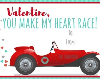 You Make My Heart Race!