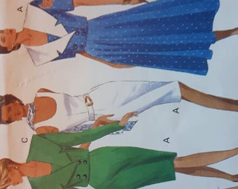 Women's Vintage Out of Print Discontinued Dress Sewing Pattern