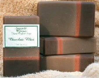 Chocolate Bliss Handmade Cold Process Soap