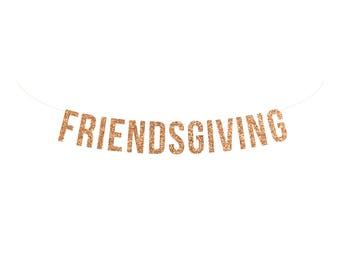 Friendsgiving banner