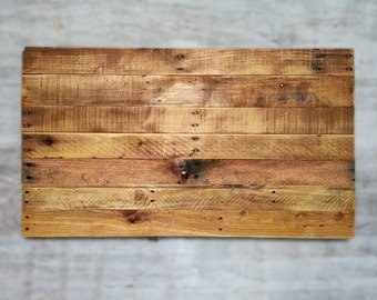 Blank Pallet Flag Rustic Wood Sign Canvas Painting Project Upcycled Recycled Distressed Blank Plaque Photography Prop Yard Decor Pallet Art
