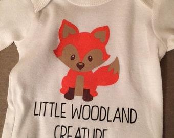Little Woodland Creature Onesie