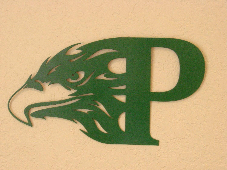 Philadelphia Eagles Football Metal Wall Art