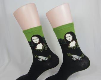Personalized Mona Lisa Socks