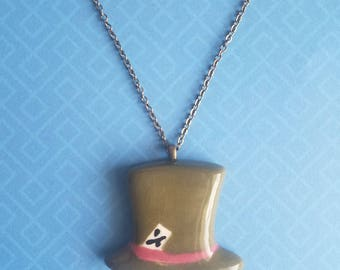 Mad Hatter Pendant Necklace
