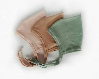 Bonnet de lutin pointu fard à joues de chapeau tuape vert sauge