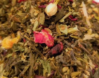 Bride of Frankenstein - Green Tea, Floral, Women's Tea, Horror Movie theme, Jasmine, Hibiscus, Yarrow
