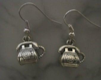 Retro Telephone Earrings