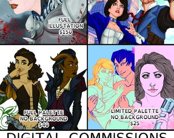 Full Palette Commission