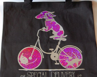 Special Delivery Canvas Bag