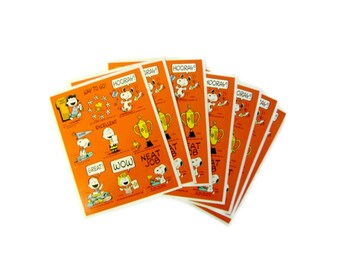 Vintage Peanuts, Charlie Brown, Vintage Snoopy, Comics, Cartoon, Charles M Shultz, Peanuts Gang, Teacher Stickers, Craft Stickers, Scrapbook