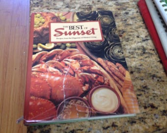 Best of Sunset Cookbook 1987 recipes from the magazine of western living