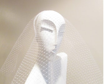 Millinery    White Veil   Veil    Designs by hope   Formal