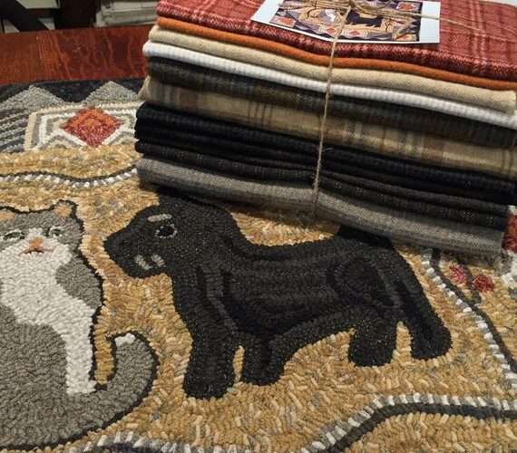 """Wool Pack for Sherlock and Watson, 30"""" x 36""""  WP104"""