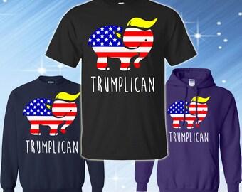 Trumplican Donald Trump 2016 T-shirt   Proud Member of the Basket of Deplorables T-shirt    #BasketOfDeplorables shirt   Trump Pence 2016