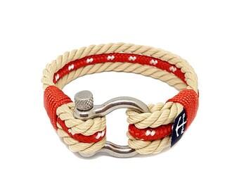 Bran Marion Nautical Bracelet, Handmade Rope Bracelet, Unisex Bracelet