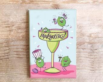 Margaritas Küche Magnet Spaß Kühlschrank Kühlschrank lustige Lebensmittel