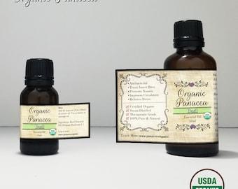 Basil Essential Oil   certified organic, steam distilled  