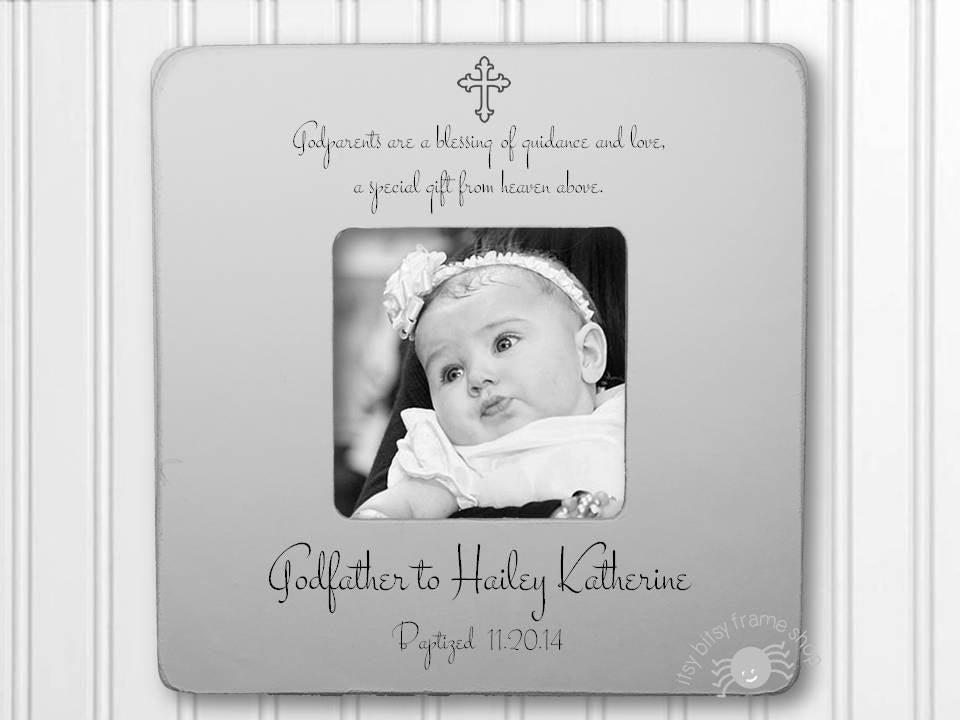 Godfather Gift Godfather Frame Gift for Godfather Baptism