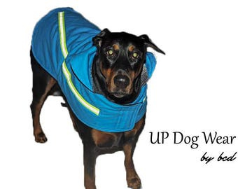 Large Thermal Dog Coats, Custom Made, the HOBZ, BCD50021
