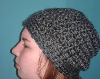 Grey Chunky Hat
