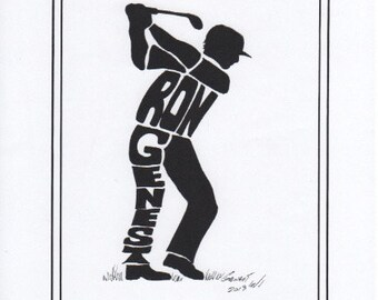 Personalized Sport Figure - Golfer