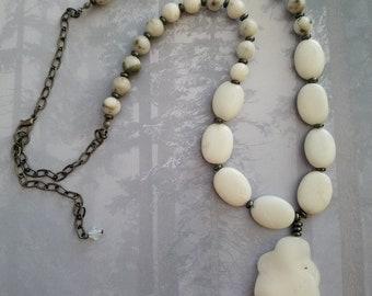 Snow Quartz Necklace