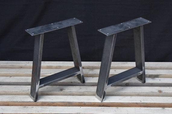 A Shape Steel Bench Legs Coffee Table Legs Metal Legs