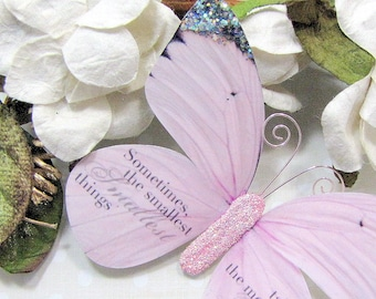 Butterfly Embellishments Sweet Baby Girl
