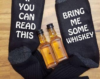 Whiskey Gift for Him, Whiskey Gift for Husband, Whiskey Gifts for Men, Whiskey Gift, Whiskey Lover Gift, Whiskey Socks, Gift for Dad