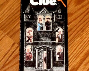 CLUE The Movie VHS Tape 1985 Paramount Pictures