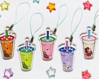 Boba Tea Charms
