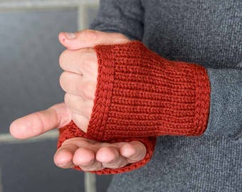 Mens Arm Warmers Redwood Mens Gloves Mens Fashion Accessories Winter Gloves Warm Gloves Driving Gloves Texting Gloves Fall Armwarmers