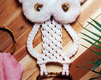 Macrame For Ages 8 And Up 2 Vintage Macrame Pattern Booklet 1978