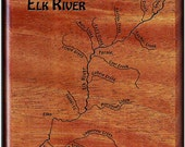 Fly Box - ELK RIVER MAP -...